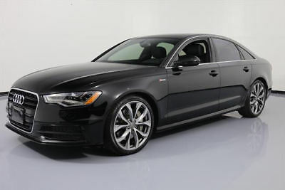 2013 Audi A6 Elite Sedan 4-Door 2013 AUDI A6 3.0T PRESTIGE AWD SUNROOF NAV 20'S 16K MI #153192 Texas Direct Auto