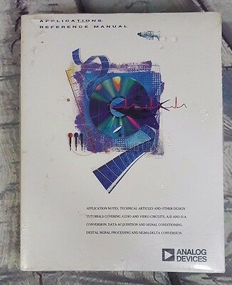 New Old Stock Vintage Analog Devices Data Book - Applications Reference Manual