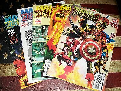 Marvel Zombies 2 #1 2 3 4 5 HORROR Mini Series Comic Book Set 1-5 Complete