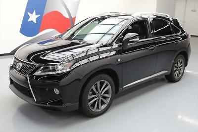 2013 Lexus RX  2013 LEXUS RX350 F-SPORT AWD SUNROOF NAV REAR CAM 73K #194003 Texas Direct Auto