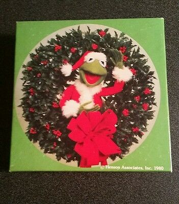 Vintage 1980 Hallmark Henson Muppets Kermit the Frog Christmas Holiday Puzzle