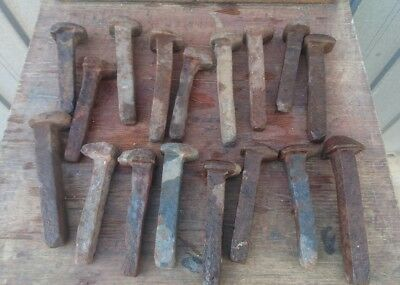 Assorted Vintage The Ghan Railway/train Hardware/pegs