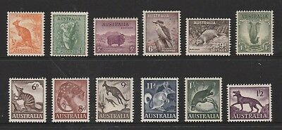 Australian Pre Decimal Stamps Mint - Native Animals x 2 sets (#140909)