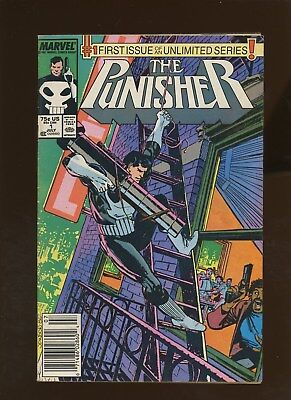 Punisher 1 FN 6.0 * 1 Book Lot * 1st On Going Punisher Series!!! Klaus Janson!!!