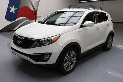 2014 Kia Sportage SX Sport Utility 4-Door 2014 KIA SPORTAGE SX T-GDI AWD LEATHER NAV REAR CAM 20K #586206 Texas Direct
