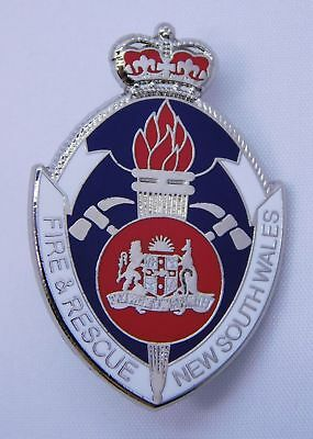 Fire & Rescue New South Wales Senior Officer Lapel Pin (Social)