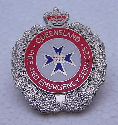 Queensland Fire & Emergency Services Lapel Pin (Social)