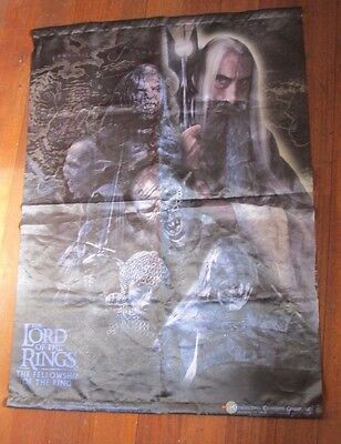 Lord of the rings memorabilia - Banner, Fabric, FOTR, Collectible Concepts Group