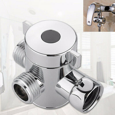 3-Way Bathroom  Shower Head Diverter Valve, Shower Arm Hose Extension