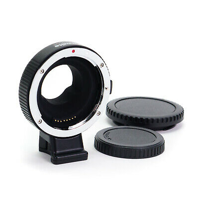 Electronic Adapter Ring Canon EF EF-S Lens to Micro 4/3 Mount Camera M43 M4/3