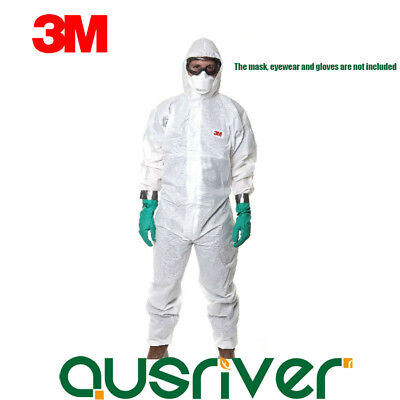 3M 4545 Protective Coverall Chemical Liquid Protection Anti-dust Suit Clothing