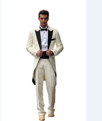 Custom Made Men's Suit Groom Wedding Formal Tuxedos Suits Best Man Suit Blazers