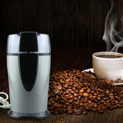 220V Electric Coffee Beans Grinder Coffee Maker Mill Grinding Stainless Steel