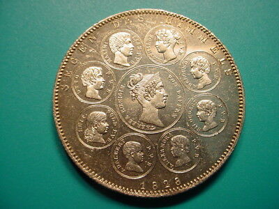 Bavaria~Silver 1828 Blessings of Family Thaler in Excellent Condition!