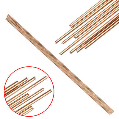10pcs HSCU Red Copper Solid Round Gas Bronze Rod For Riveting Cutting 1.6x330mm