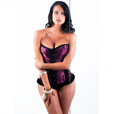 Sexy en Halloween QUEEN CORSET ZULEIKAGRANATE  TALLA XL +REGALITO