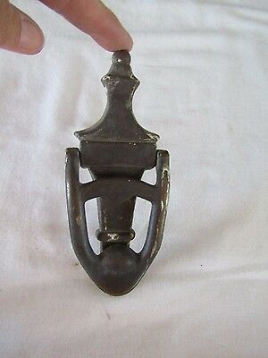 Antique Urn Shaped Solid Brass Door Knocker 6 1/4""