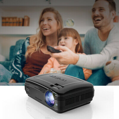 Excelvan BL-59 3000:1 LED WiFi Wireless BT 1080P 3D Proyector 6000LM 1G+8G ATV