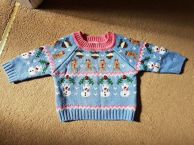 Next christmas jumper 6-9 months