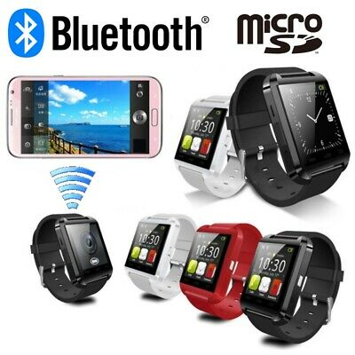 Orologio SmartWatch U8 con Bluetooth SD per Telefono ANDROID-IOS ITALIANO NO SIM