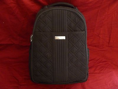 Vera Bradley Black Diaper Backpack