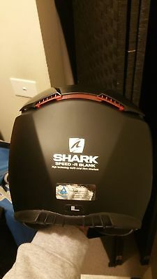 shark speed r series 2 matt black helmet
