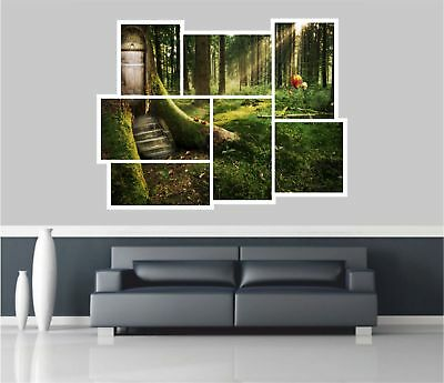 Enchanted Forest Fairy Wall Mural Wallpaper Ws 42295