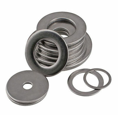 304 Stainless M3-M20 Large Flat Washer Thin plain Ring Washers THICK 1.0mm