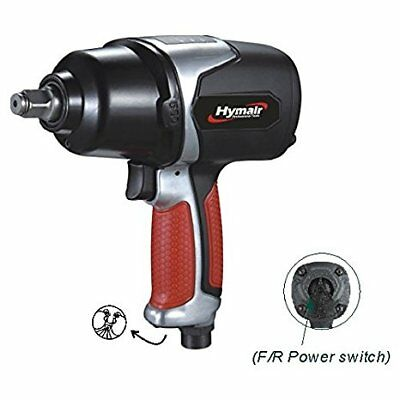 Hymair 1/2'' Heavy Duty Composit Air Impact Wrench, Twin Hammer NST-5040Fact wre