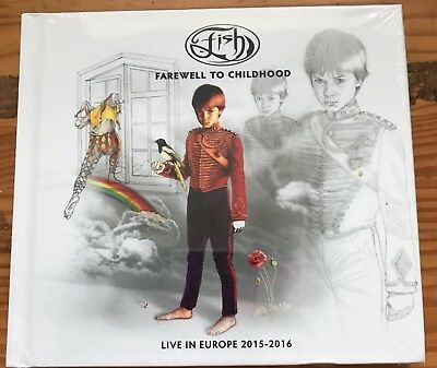 Fish - Farewell To Childhood live 2CD + DVD set NEW (Marillion)
