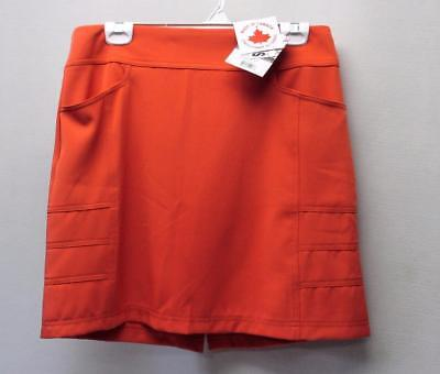 New Ladies Size 10 Dexim Golf polyester skorts Made in Canada