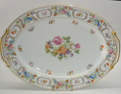"Noritake China Dresalda #4727 Oval Platter 12"" by 16"""