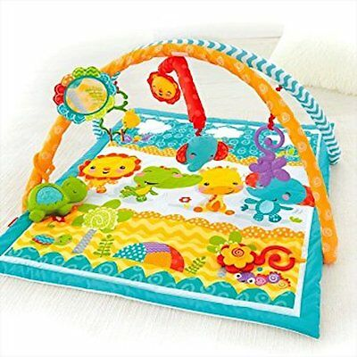 FISHER PRICE Newborn Infant Play Activity Floor Gym Mat Baby Shower Gift