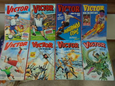 A Complete Set Of 31 Victor Annuals Spanning Three Decades