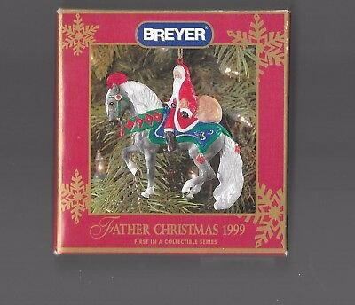 Breyer Father Christmas 1999 Collectible Ornament 1st in Series