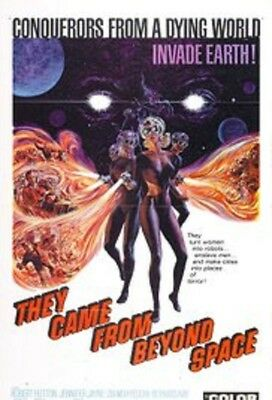 """16Mm Feature Film - """"they Came From Beyond Space""""  - 85 Min.- Color 1967 -Sci-Fi"""