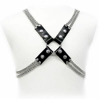 Leather Body Chain Harness | Leather Body
