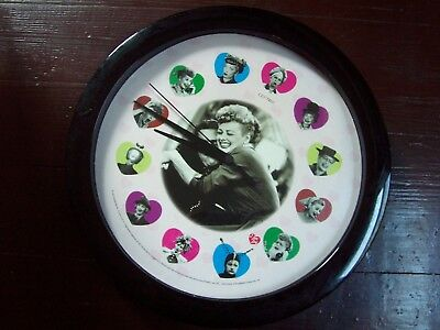 I LOVE LUCY Wall Clock by Centric TESTED WORKS WELL