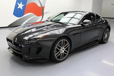 2016 Jaguar F-Type R Coupe 2-Door 2016 JAGUAR F-TYPE R AWD SUNROOF NAV HEATED SEATS 9K MI #K27836 Texas Direct
