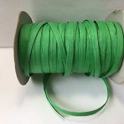 """Lt Green//Turquoise BS15-5 Yards 5//8/"""" Solid Iridescent  Ribbon"""