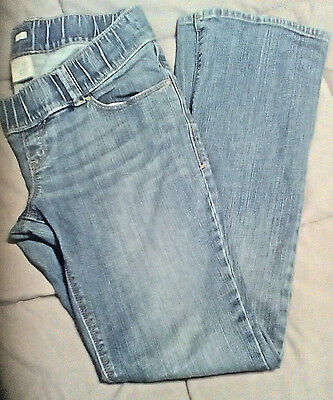 Old Navy Maternity Low Rise Stretch Denim Jeans Blue Size 4