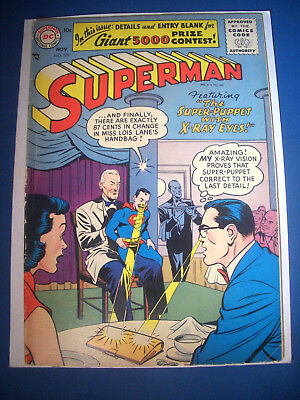 1956 * SUPERMAN #109 * DC Comics est 6.0 FN * Off WHITE Pages * FIRST SILVER AGE