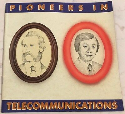 Pioneers In Telecommunications Bt 1985 Edison Strowger Marconi Bell
