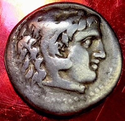 *stunning* Alexander The Great Silver Drachm 332Bce. Ancient Artefact.