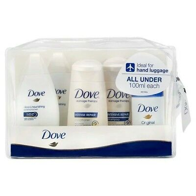 2x Dove Travel Minis Gift Set - ideal for hand or cabin luggage