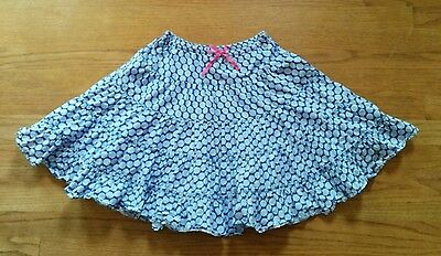 Mini Boden  * size 7-8Y *  blue floral tiered twirl skirt  twirly