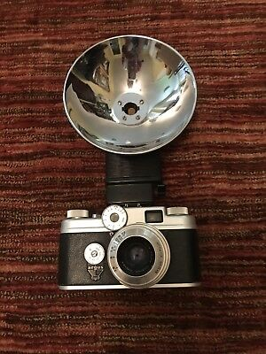 Vintage Argus C 44 Camera With Leather Case