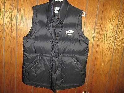 Men's Vintage Dkny Usa Puffer Vest Winter Small 90S