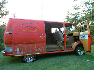 1974 Ford E-Series Van SURFER VAN , WITH PATINA 1974 FORD  E 100  SURFER VAN  JUST COMPLETED READY TO GO , RARE FIND, PITINA