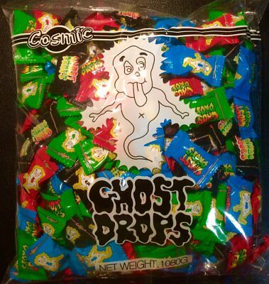 NEW Ghost Drops - 1080g Party Supplies Occasion Birthday Christmas
